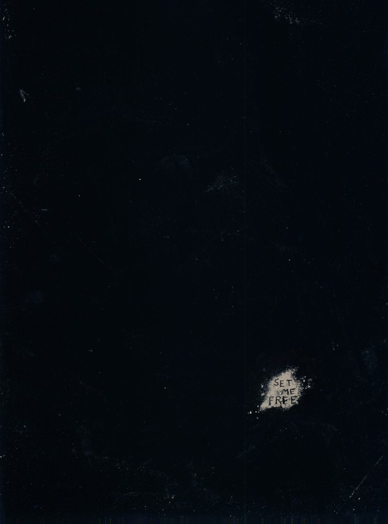 Untitled, 2008, ink on photo rag, 138 x 102 cm