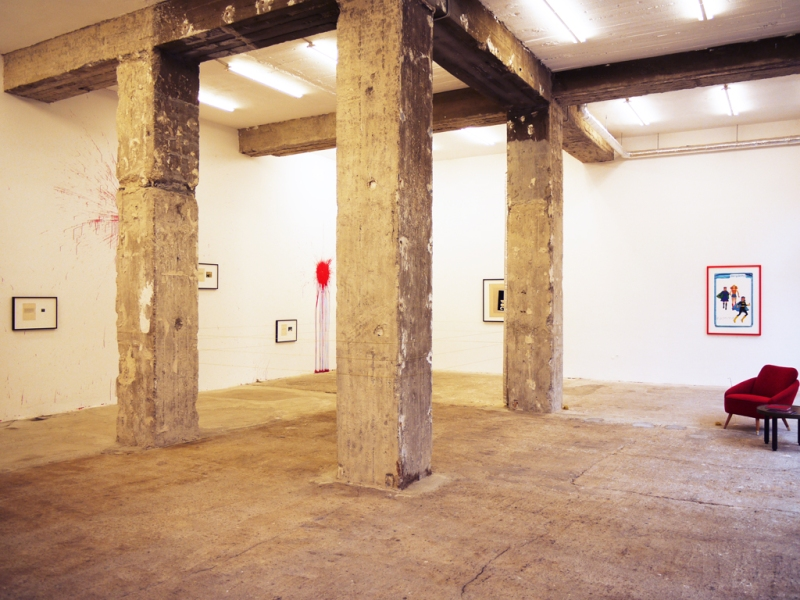 Natascha Stellmach, Installation view, Come Live in My Head (photographs and mixed media) at Wagner+Partner Berlin, 2010