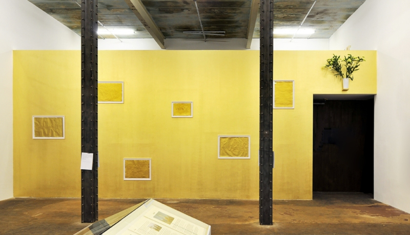 BORIS + NATASCHA Installation view: Oracle as part of Whatever Happened to God?, Halle 14, Leipzig 2012