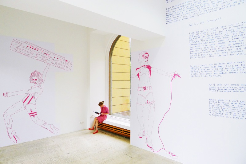 Natascha Stellmach, installation view,