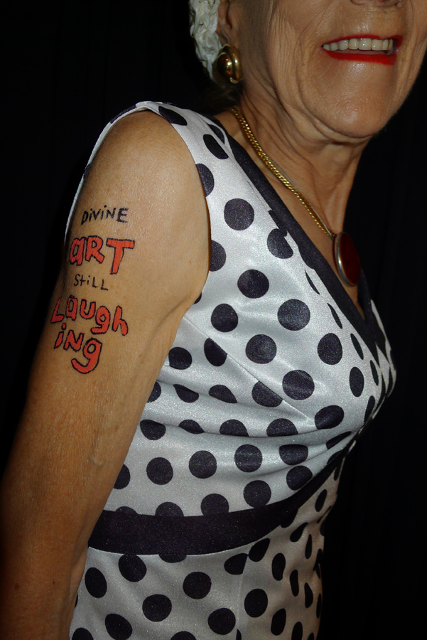 Natascha Stellmach, Patricia wearing Pele Mele, Greece, 2012