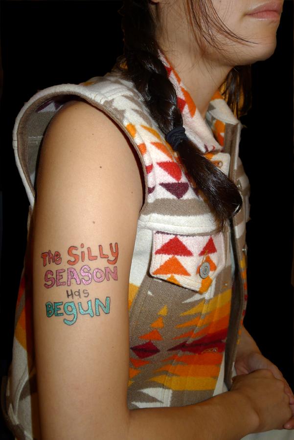 Natascha Stellmach, Sheri wearing tokik, Hungary, 2011