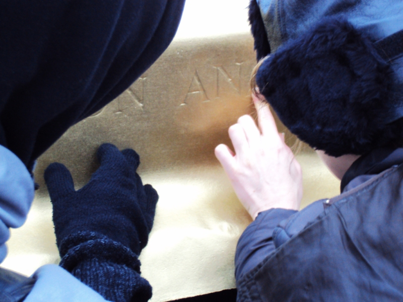 BORIS + NATASCHA at Susan Sontag's grave, making On Angst, Montparnasse cemetery, Paris, 2010