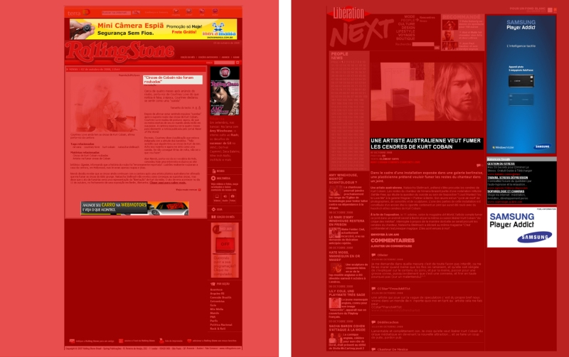 Media Whore pages (two of 440 pages)