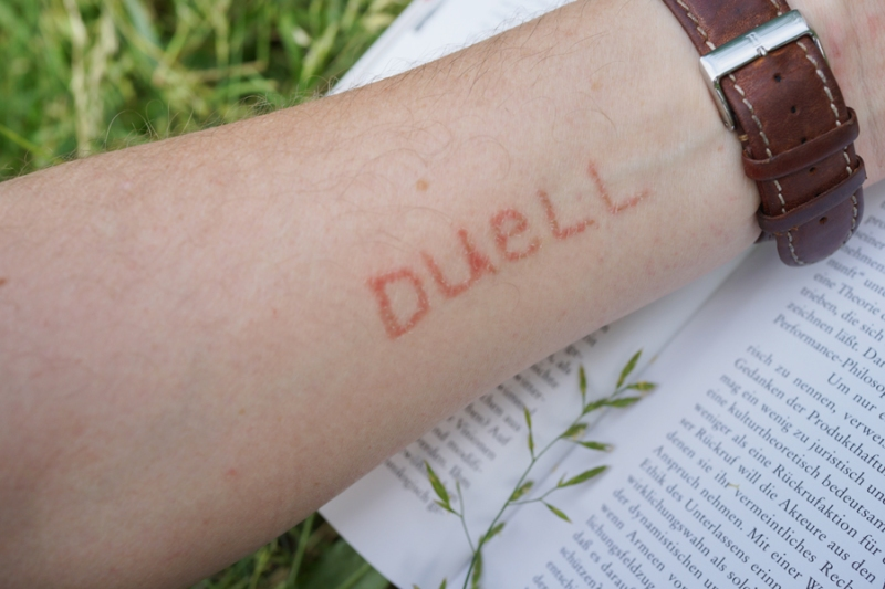 Selfie by Thomas: Day 7, Duel (Duell in German), 2013