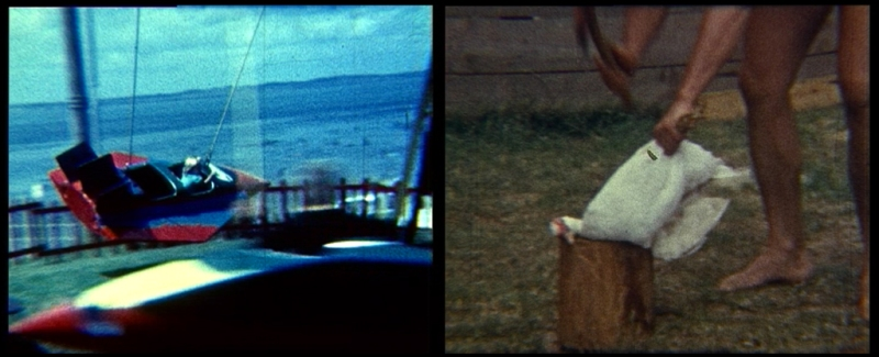 Natascha Stellmach, Oi Oi Oi, 2007, stills from super8 film transferred to video, 1-channel, sound, 3:30min
