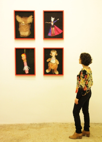 Installation view, Worry Dolls 2007-12 at Wagner+Partner Berlin, 2012