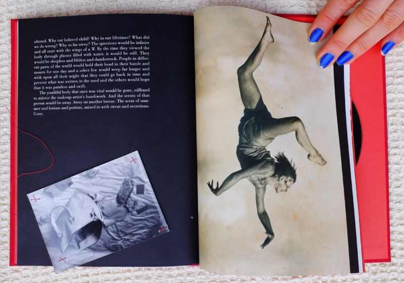 Natascha Stellmach, Detail, p 78–9 The Book of Back, limited ed. 49/123, 2007